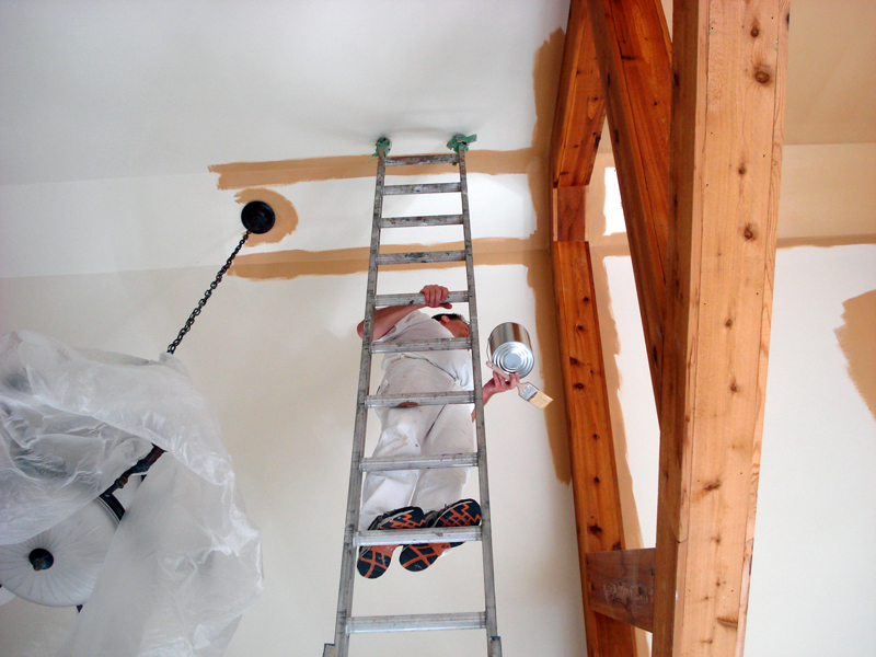 Winter Painting Tips from Castino Restoration and Home Services