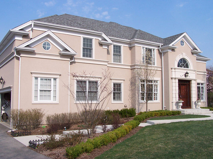 Stucco Over Stone Residential Stucco Contractor In Chicago Il Castino Painting